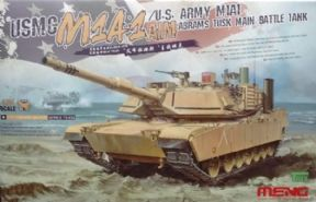 MNGTS-032 1/35 M1A1 Abrams TUSK Main Battle Tank